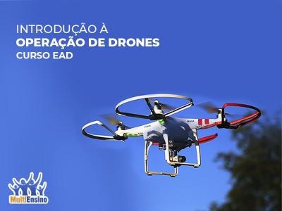 Curso Operação de Drones - Curso EAD - Veja Detalhes