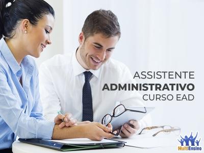 Curso Assistente Administrativo - EAD - Veja Detalhes