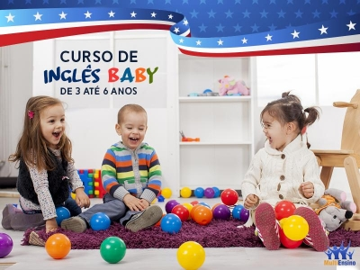 Curso de Inglês Baby - Veja Detalhes