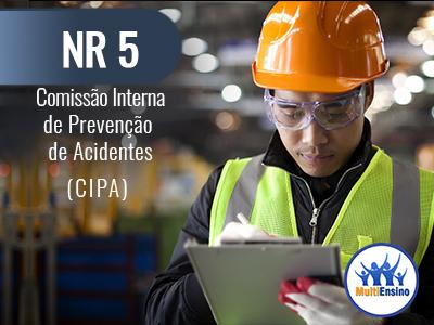 NR 5 - Comissão interna de prevenção de acidades (CIPA) - Veja detalhes: