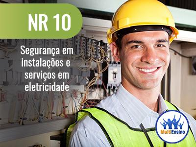 NR 10 - Segurança em instalações e serviços em eletricidade - Veja detalhes: