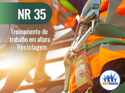 NR 35 Treinamento de trabalho em altura (Reciclagem) Veja detalhes: