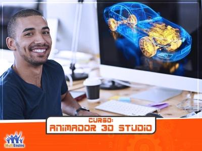 Curso Animador 3D Studio - Veja detalhes: