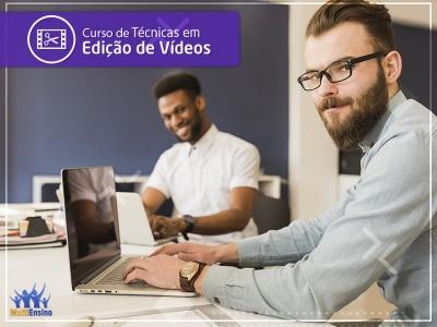 CURSO de Técnicas de Edição de Vídeos - Veja detalhes
