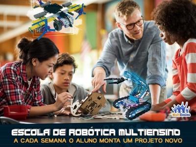 Escola de Robótica Educacional MultiEnsino - Veja detalhes