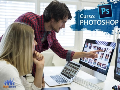 Curso de PhotoShop - Veja detalhes