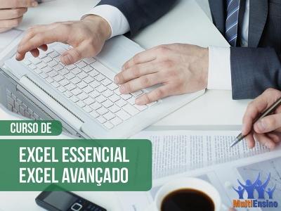 Excel Essencial e Avançado - Veja detalhes