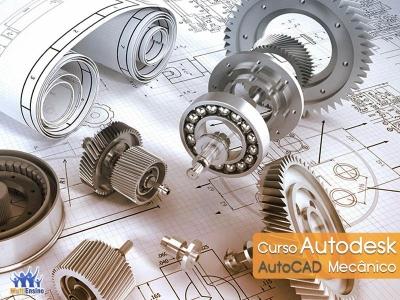Curso AutoCad Mecânico - Veja detalhes