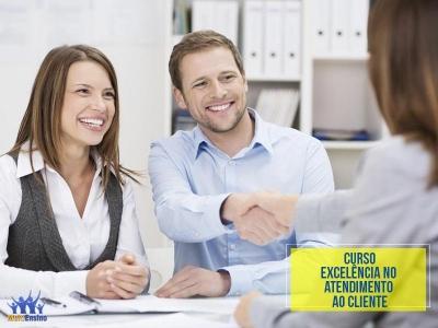 Curso Excelência no Atendimento ao Cliente - Veja detalhes