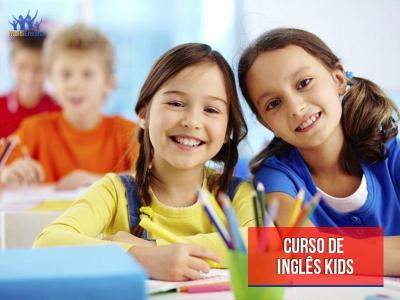 Curso de Inglês Kids - Veja detalhes